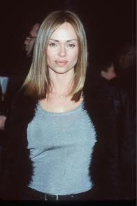 Vanessa Angel at the premiere of
