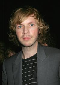 Beck at the after party of the Air concert.