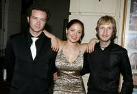 Danny Masterson, Erika Chistensen and Beck at the Church of Scientology Celebrity Centre 36th Anniversary Gala.