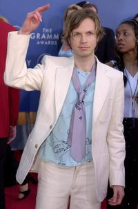 Beck at the 43rd Annual Grammy Awards.