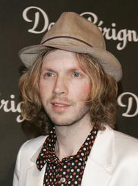 Beck at the International Launch of Dom Perignon Rose Vintage 1996 Champagne.