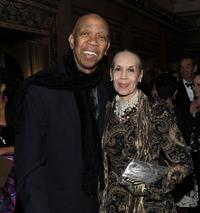Geoffrey Holder and Carmen de Lavallade at the Alvin Ailey Opening Night Gala performance.