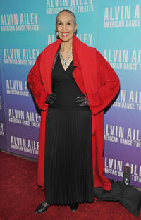 Carmen de Lavallade at the 2011 Alvin Ailey American Dance Theater's Opening Night Gala in New York.