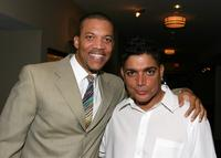 Christopher B. Duncan and Michael de Lorenzo at the screening of