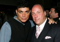 Michael de Lorenzo and Chris Mormando at the after party of the premiere of