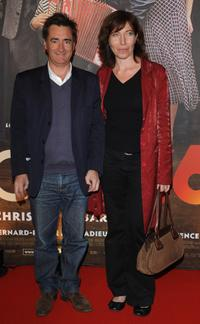 Artus de Penguern and Elise Larnicole at the premiere of