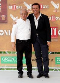 Claudio Gubitosi and Christian de Sica at the Giffoni Experience 2010.