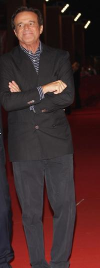Christian de Sica at the premiere of