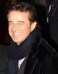 Christian de Sica at the Italian premiere of
