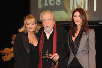 Charlotte de Turckheim, Michael Lonsdale and Linda Hardy at the 16th Cerememonie Des Lumieres in France.