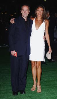 Angus Deayton and Annabel Croft at the UK premiere of