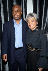 Ruby Dee and Charles Burnett at the 2007 New York Film Critic's Circle Awards.