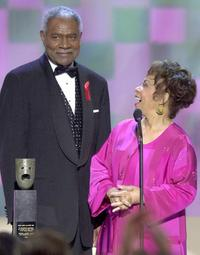 Ruby Dee and Ossie Davis at the 7th Annual Screen Actors Guild Awards.