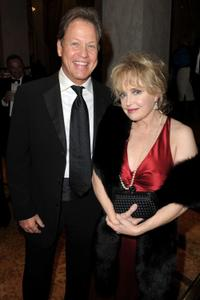 Rick Dees and Julie Dees at the UNICEF Ball honoring Jerry Weintraub.