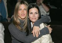 Jennifer Aniston and Courtney Cox at the after party at the L.A.premiere for