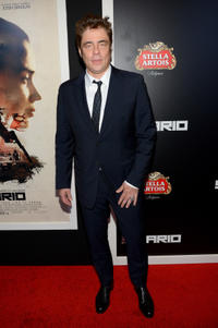 Benicio del Toro at the New York premiere of