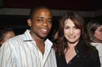 Kim Delaney and Dule Hill at the premiere of