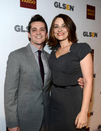 Jonathan Del Arco and Clementine Ford at the 8th Annual GLSEN Respect Awards.