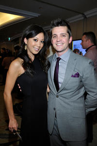 Brittany Ishibashi and Jonathan Del Arco at the 8th Annual GLSEN Respect Awards.