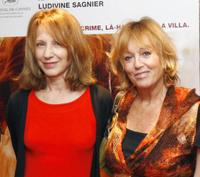 Nathalie Baye and Mylene Demongeot at the photocall of