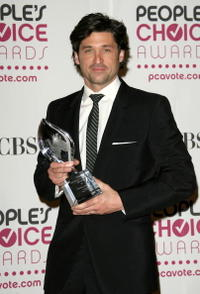 Patrick Dempsey at the 33rd Annual People's Choice Awards in Los Angeles.