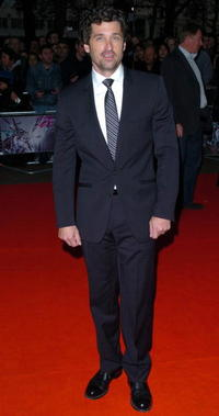 Actor Patrick Dempsey at the premiere of