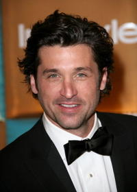 Patrick Dempsey at In Style Magazine and Warner Bros. Studios' Golden Globe after party.