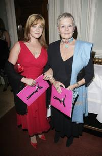 Judi Dench and Finty Williams at the London premiere of