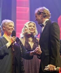 Judi Dench, Cate Blanchett and Maximilian Brueckner at the 57th Berlinale International Film Festival held in 2007.