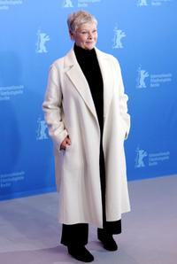 Judi Dench at the 57th Berlinale International Film Festival held in 2007 to promote the movie