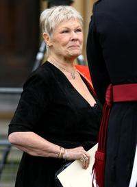 Judi Dench at the Duke of Edinburgh's 60th Diamond Wedding Anniversary.