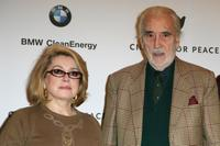 Catherine Deneuve and Christopher Lee at the photocall of