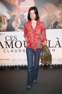 Marianne Denicourt at the France premiere of