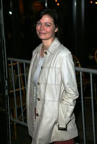 Marianne Denicourt at the opening night of the first edition of International Rendez Vous Cinema Verite.