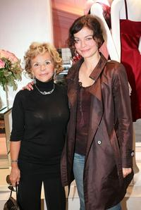 Anna Molinari and Marianne Denicourt at the Blumarine store opening cocktail party.