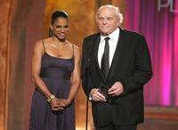 Brian Dennehy and Audra McDonald at the 61st Annual Tony Awards.