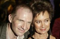 Francesca Annis and Ralph Fiennes at the UK Premiere of