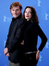 Guillaume Depardieu and Jeanne Balibar at the photocall of