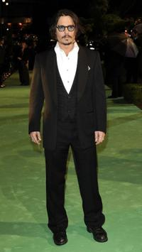 Johnny Depp at the London premiere of
