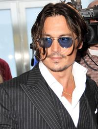 Johnny Depp at the Illinois premiere of