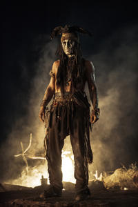 Johnny Depp as Tonto in