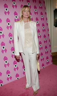 Bo Derek at the Susan B. Komen Breast Cancer Foundation Benefit.