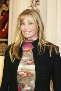 Bo Derek at a reception in honor of director Blake Edwards.