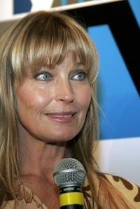 Bo Derek at the launch of MyNetwork TV.
