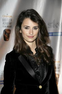 Penelope Cruz at the Inaugural British Academy Film and Television Arts Nominees Reception in London, England.