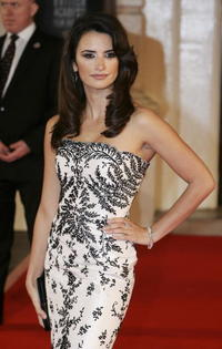 Penelope Cruz at the Orange British Academy Film Awards in London, England.