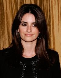 Penelope Cruz at the American Civil Liberties Union Bill of Rights dinner and silent auction.