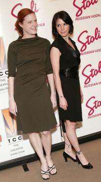 Samantha Buck and Sabrina Lloyd at the 2003 Creative Coalition Spotlight Awards.