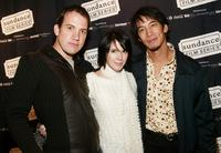 John Livingston, Sabrina Lloyd and Mark Decena at the Sundance premiere of