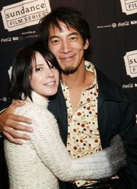 Sabrina Lloyd and Mark Decena at the Sundance premiere of